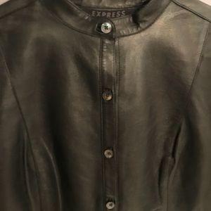 Express Jackets & Coats - Express Leather jacket